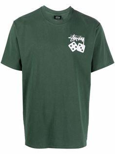 Stussy футболка с логотипом