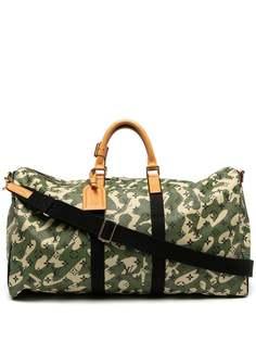 Louis Vuitton сумка Keepall Bandouliere 55 2008-го года из коллаборации с Takashi Murakami