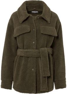 Куртка из плюшевого материала Bonprix