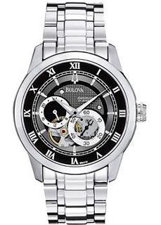 Японские наручные мужские часы Bulova 96A119. Коллекция Automatic