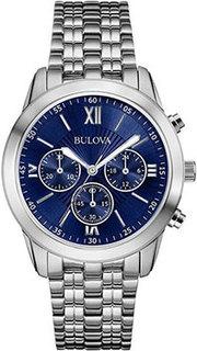 Японские наручные мужские часы Bulova 96A174. Коллекция Classic