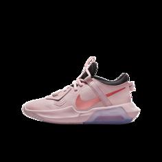 Баскетбольные кроссовки для школьников Nike Air Zoom Crossover - Розовый