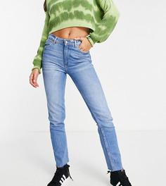 Голубые узкие джинсы Bershka Tall-Голубой