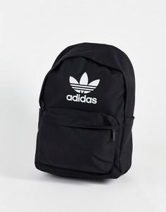 Черный рюкзак с логотипом-трилистником Adidas Originals adicolor-Черный цвет