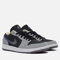 Мужские кроссовки Jordan Air Jordan 1 Low Se Crater, цвет серый, размер 41 EU