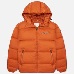 Мужской пуховик Napapijri Suomi Hooded, цвет оранжевый, размер M